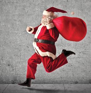 Santa Made Me Do It!